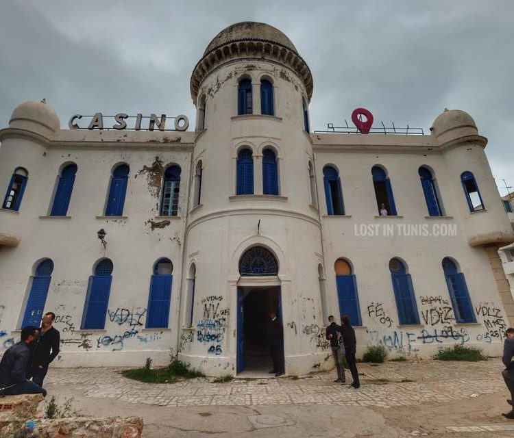 Undoubtedly One Of The Most Iconic Buildings In The City Of Hammam Lif, The  Casino Was Inaugurated In The Early 1900ies. It Was A Hotel Then A Casino  Then A ...